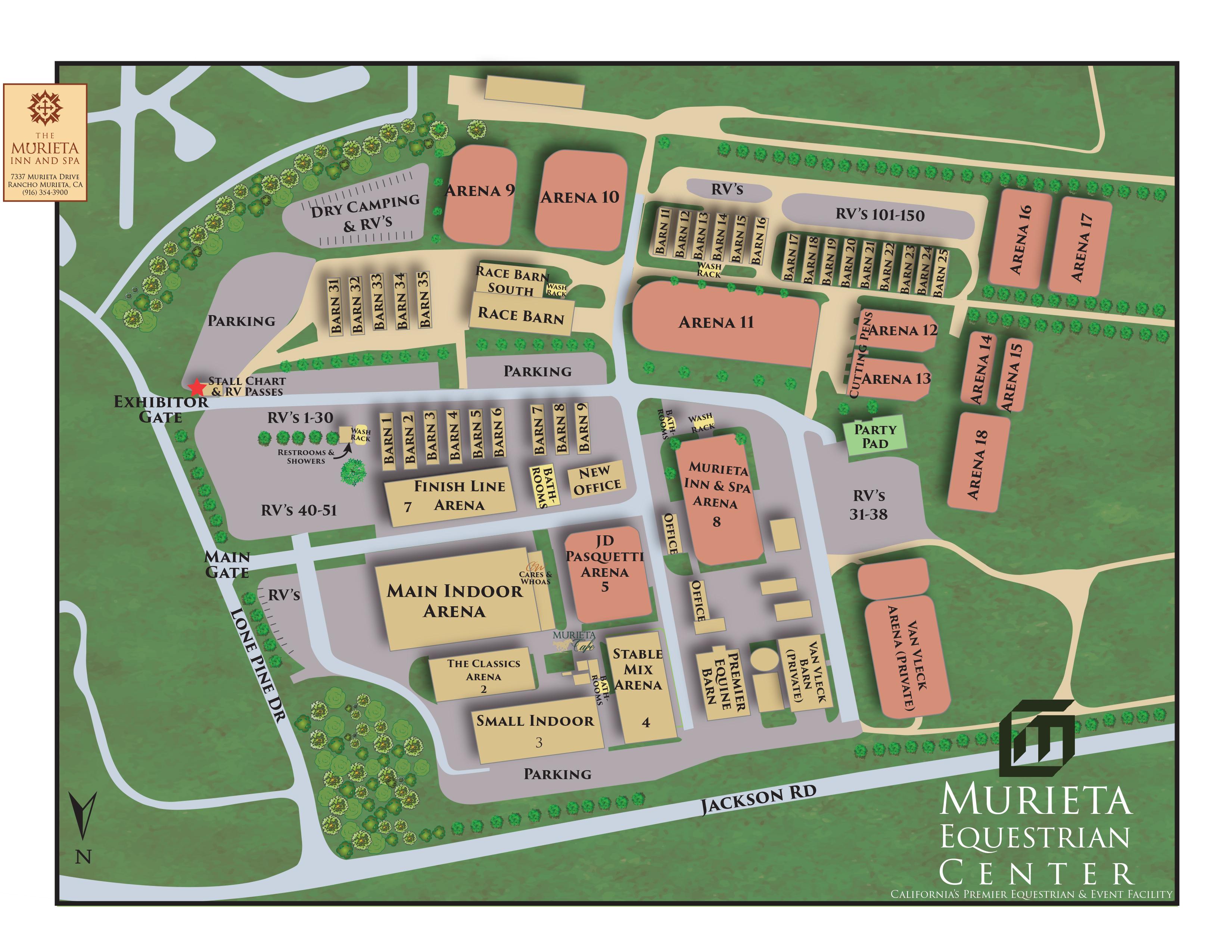 Facility Murieta Equestrian Center
